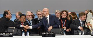 Cop24, promesse ma nessun impegno chiaro: la Conferenza Onu sul clima si chiude con un compromesso al ribasso