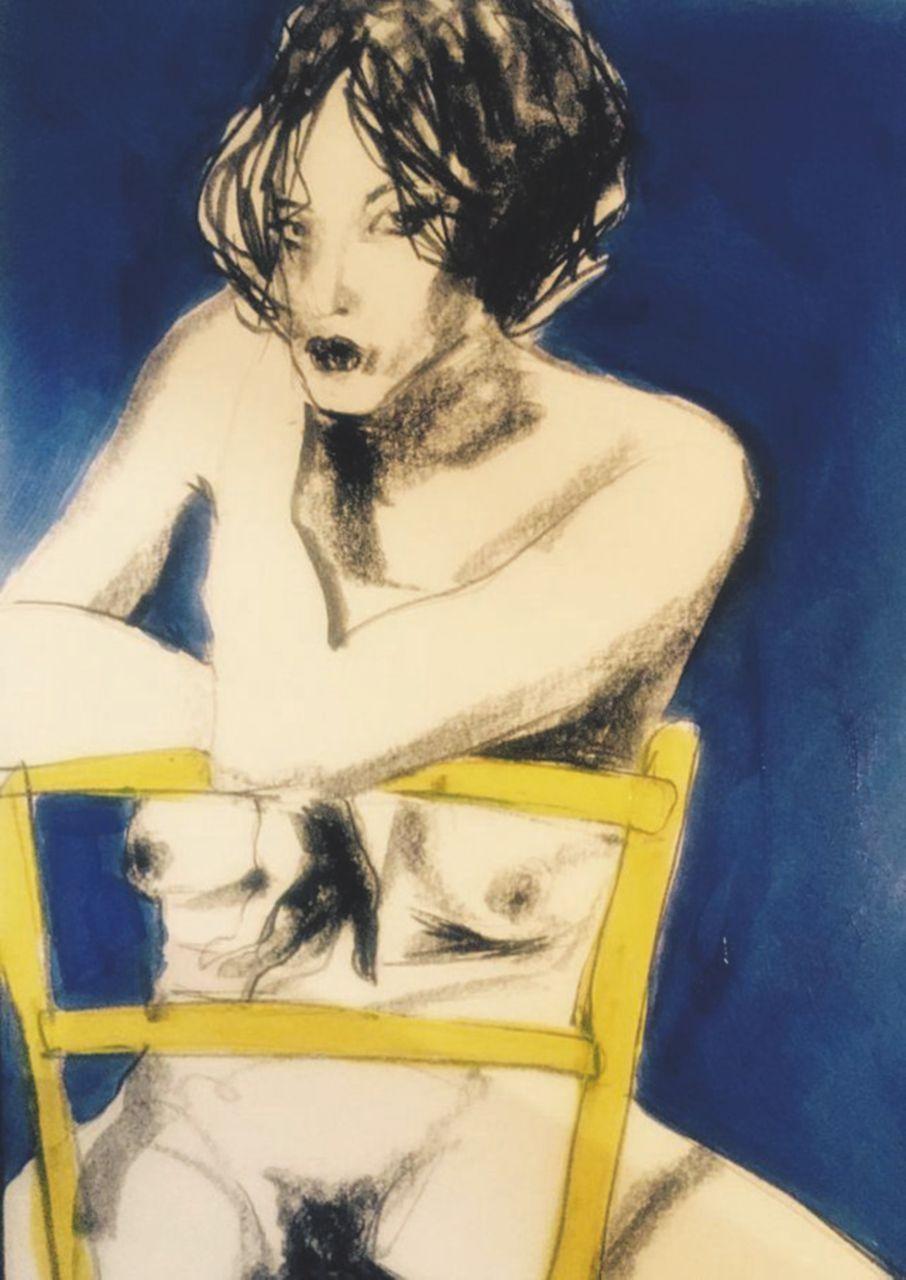 """Il """"Sacro erotismo"""" di Beppe Mora tra danzatrici lascive e uomini-angelo"""