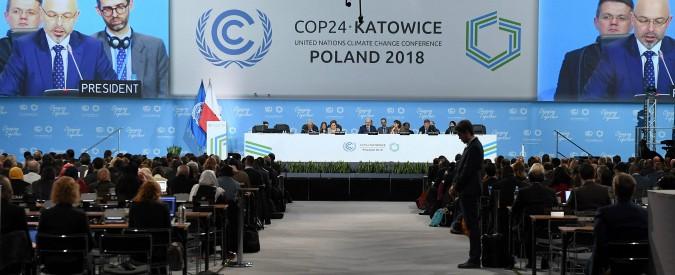"""Clima, Cop24: Terra e scienza sconfitte dagli Usa e altri produttori di greggio. """"Entro questo secolo, 3-4 gradi in più"""""""