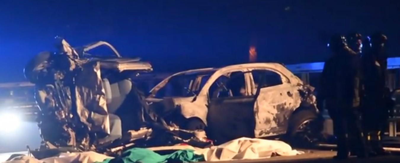 Sondrio, auto contromano sulla statale 38: sei persone muoiono in un frontale