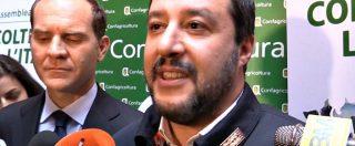 """Foto con capo ultrà, Salvini: """"Lucci condannato per droga? Mi occupo di quello che accade da oggi in avanti"""""""