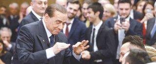 """Anticorruzione, Silvio Berlusconi ai suoi: """"Una legge pericolosissima"""" e lancia l'operazione """"scoiattolo"""" contro il M5s"""