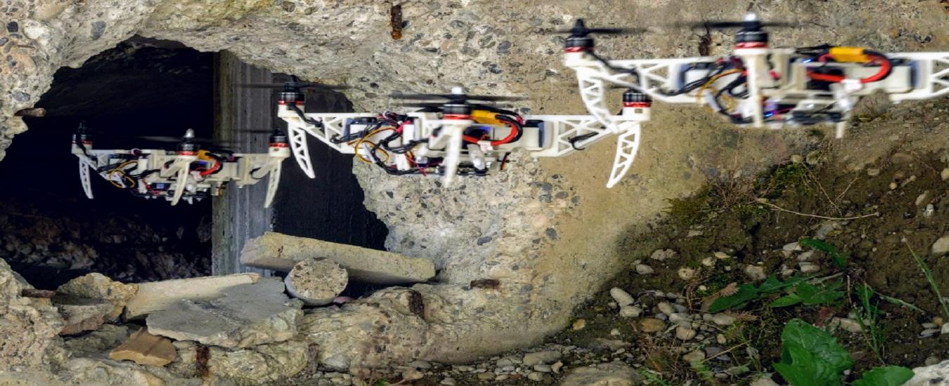Il drone da soccorso che piega le ali come gli uccelli e cerca le persone scomparse nelle zone disastrate