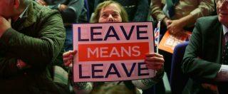 """Brexit, visti di lavoro limitati a un anno. May: """"Per residenti Ue cambia poco anche con 'no deal"""
