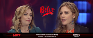 """Belve (Nove), Giorgia Meloni: """"Vorrei odiare mio padre, ma non provo nulla per lui"""""""