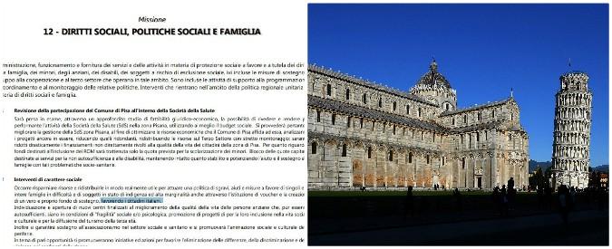"""Pisa come Lodi, """"nidi e case popolari prima agli italiani"""". Nel bilancio discriminazioni pure su aiuti alle famiglie"""