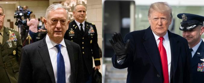 James Mattis, il capo del Pentagono lascia dopo il ritiro dalla Siria. E Trump fa rientrare 7mila soldati dall'Afghanistan