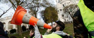 Francia, protesta di 38mila gilet gialli: fermato leader del movimento. Scontri a Parigi. Bloccata frontiera italo-francese