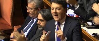 """Manovra, Renzi accusa Lega e M5s: """"Avete mentito e truffato gli italiani il 4 marzo"""". E alla fine cita Lincoln"""