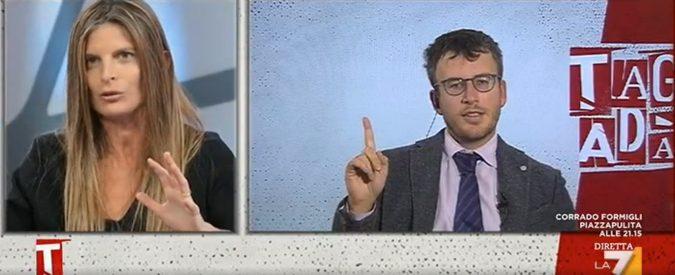 Alzo la mano per chiedere la parola. Sì, sono scandaloso