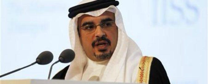 Alla Sapienza c'è una cattedra offerta dal re del Bahrain. Che in patria viola i diritti umani