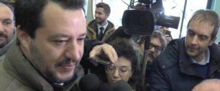 """Governo, Salvini: """"Di Battista è un amico, non vedo l'ora che torni a dare il suo contributo"""""""