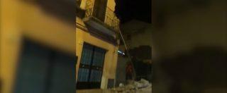 """Terremoto a Catania, le prime immagini dopo la scossa a Zafferana Etnea: """"Sono cadute le case"""""""