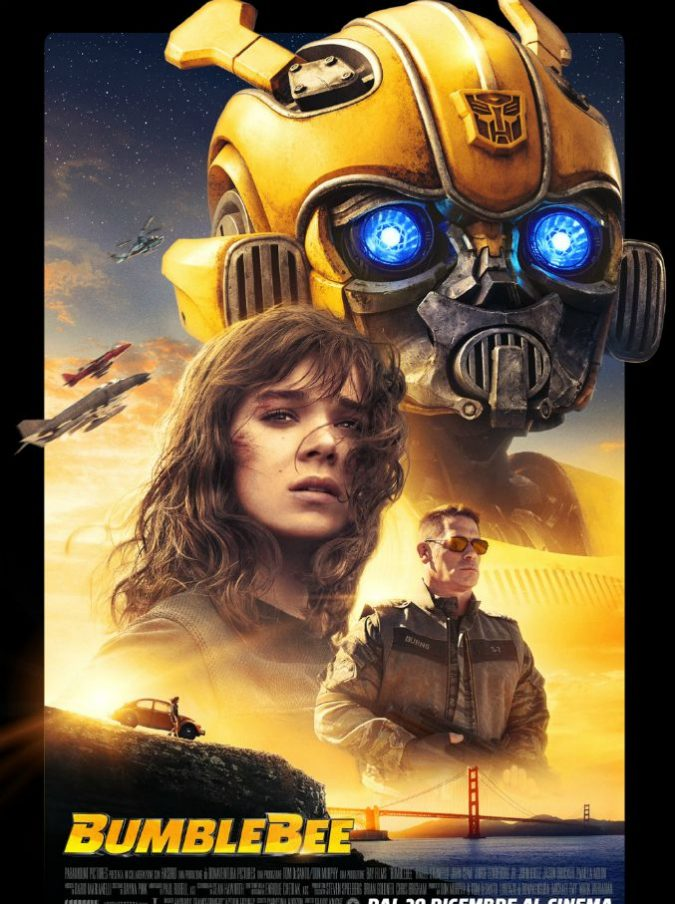Bumblebee, lustratevi gli occhi: sembra di essere dalle parti di E.T. ma è il prequel di ogni Transformers