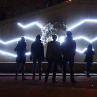 Giochi di luce a Fourvière