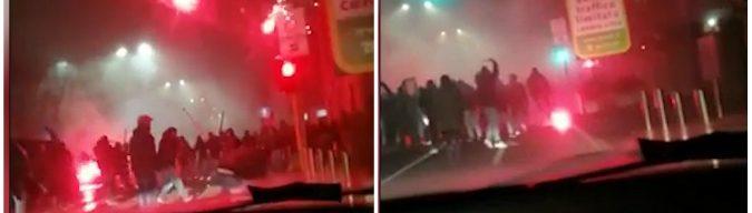 """Inter-Napoli, morto tifoso investito negli scontri: """"Sei indagati"""". San Siro chiuso due giornate per i cori razzisti"""