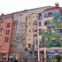 Mur des Canuts, il più grande murale d'Europa