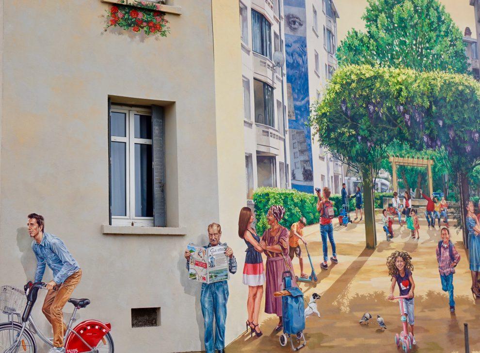 Murale a Etats Unis