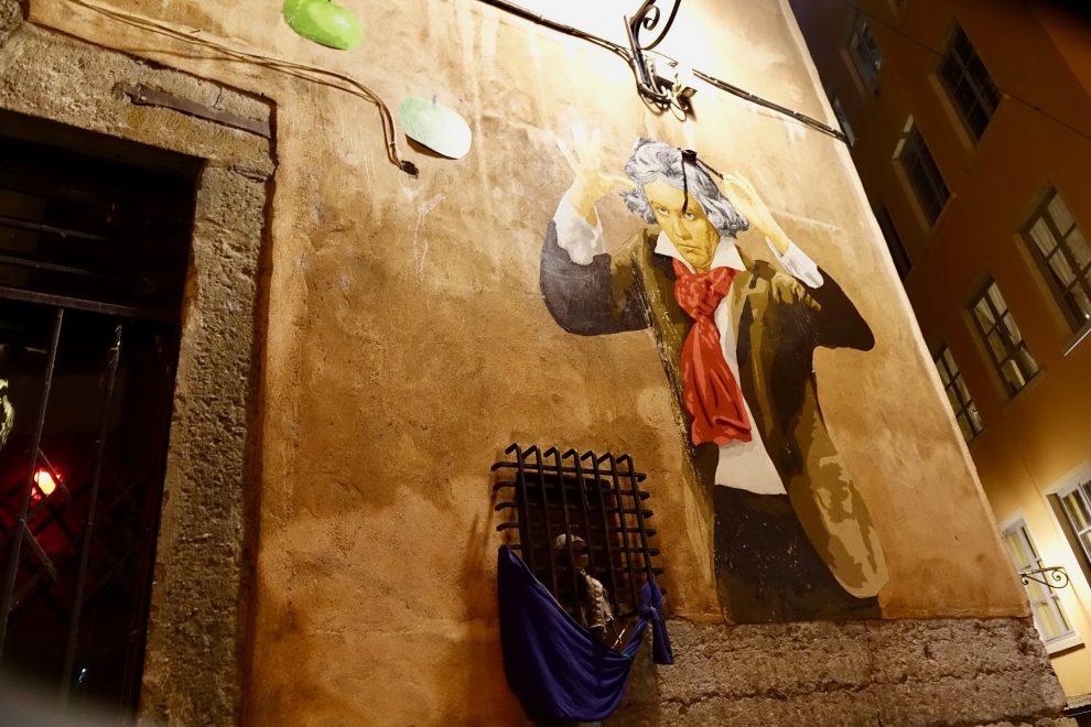 Murale a Vieux-Lyon