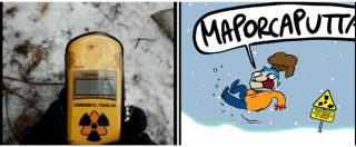 """Meglio Chernobyl del cenone: le """"vacanze atomiche"""" di Natangelo sul Fatto Quotidiano in edicola"""