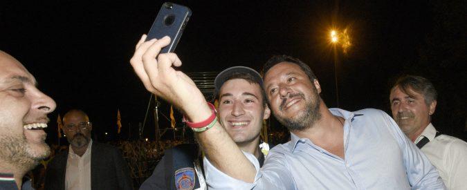 Salvini, il selfie made man