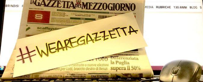 La Gazzetta del Mezzogiorno, un appello per salvarla: prenotate la copia del 29 dicembre
