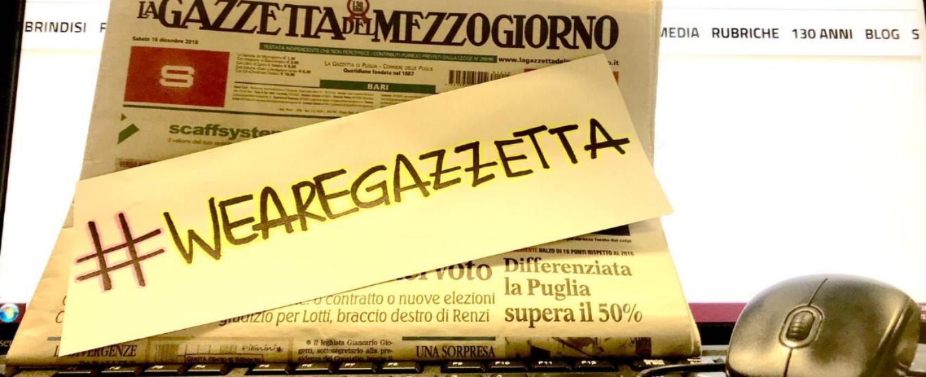 Gazzetta del Mezzogiorno non sarà più in edicola dal 3 marzo: sciopero ad oltranza dei giornalisti, senza stipendio da 4 mesi