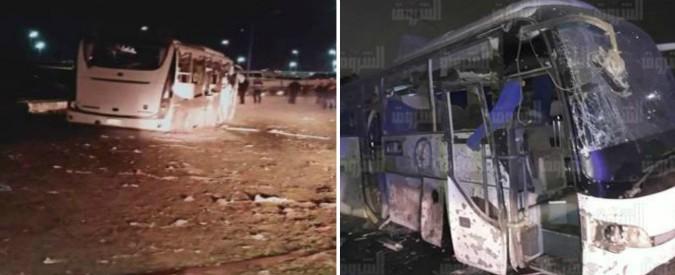 Cairo, esplosione su un bus di turisti vietnamiti: quattro morti e 11 feriti. Raid della polizia nella zona: 40 morti