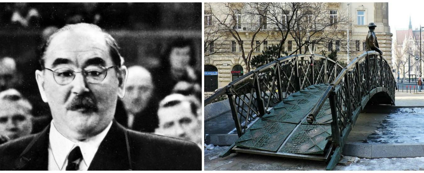 """Ungheria, rimossa la statua di Imre Nagy a Budapest: """"Un comunista dei peggiori"""""""