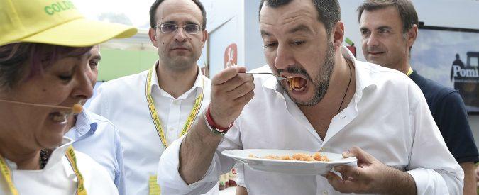 Matteo Salvini e la politica da Masterchef. Quando il consenso si costruisce sul cibo