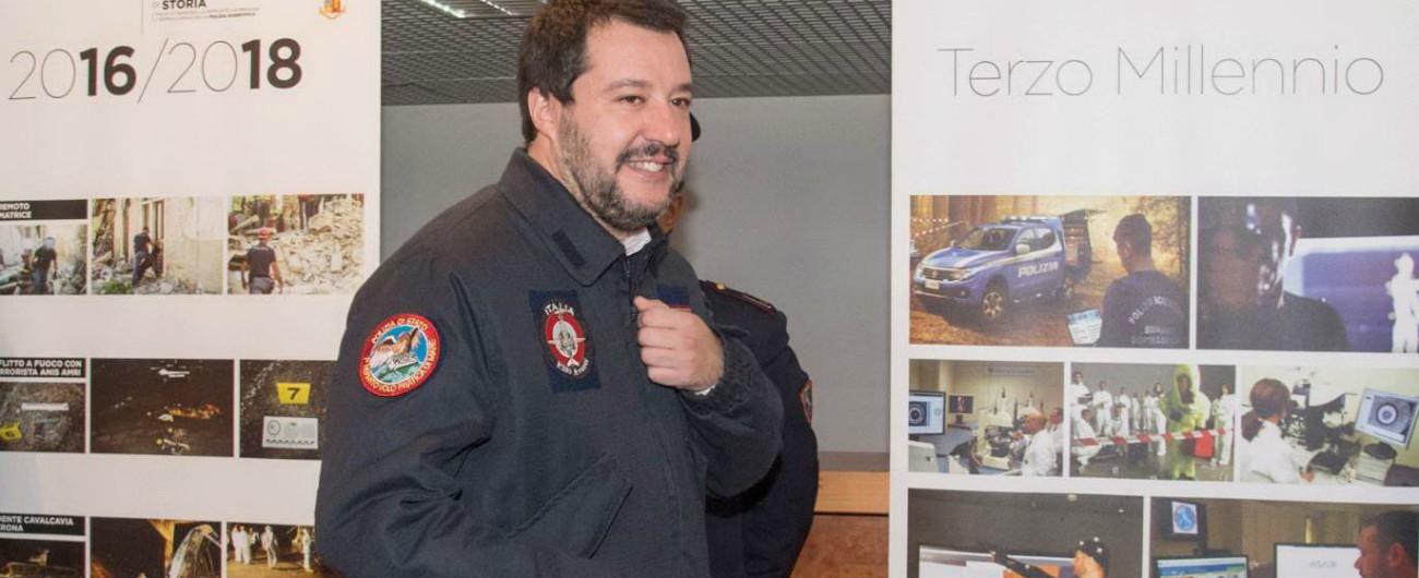 """Ultras morto, Salvini: """"Chiudere stadi e vietare trasferte è la risposta sbagliata"""". Gentiloni: """"Dieci giorni fa li omaggiava"""""""