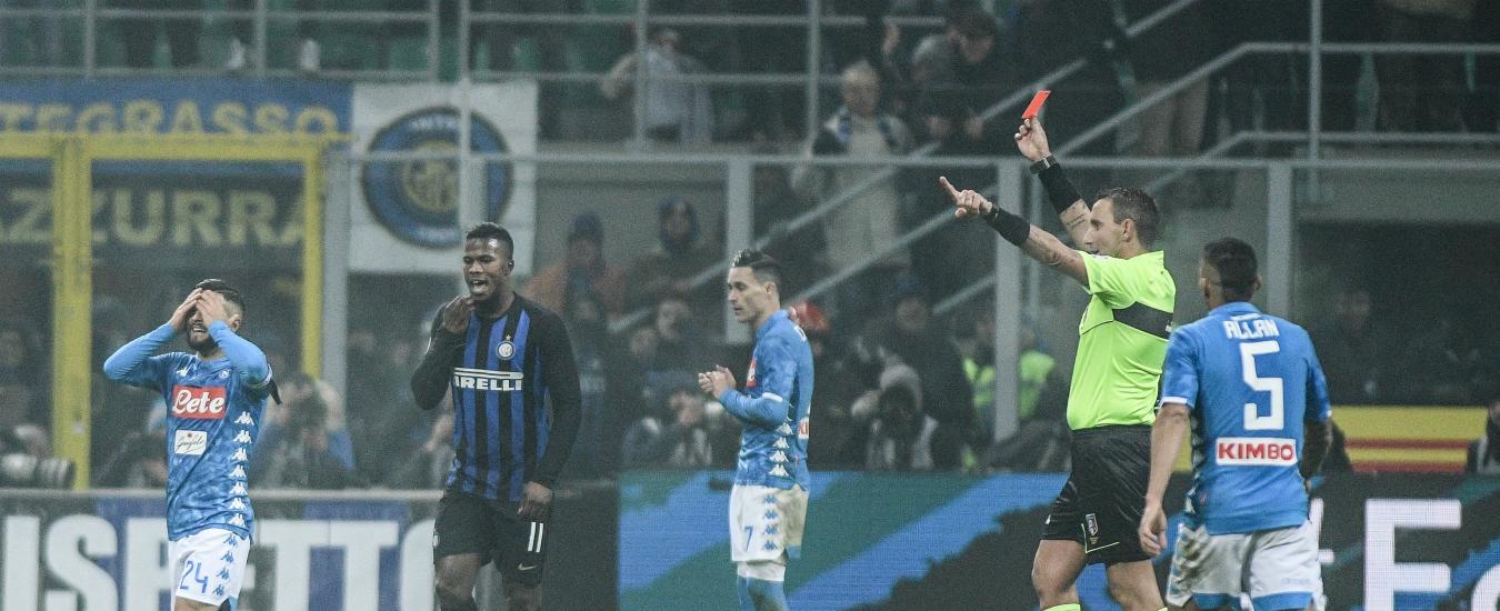 Inter-Napoli, non aver interrotto la partita è stata un'occasione persa