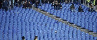 """Inter-Napoli, """"arrestato ha fatto il nome di uno degli organizzatori dell'agguato"""". No striscione per Dede: curva Lazio va via"""