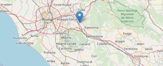 Terremoto Roma, scossa di magnitudo 3.2 a 24 chilometri a Est della Capitale
