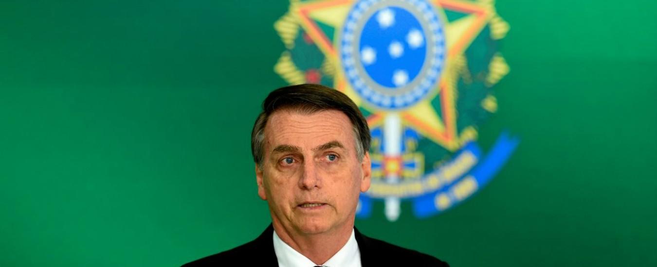 Brasile, si insedia il presidente Bolsonaro Alla cerimonia anche Orban e Netanyahu