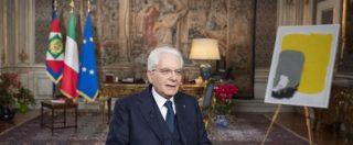 Mattarella, il suo discorso di fine anno fa il pieno di spettatori: 10 milioni in tv e boom sui social