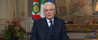 Quirinale, il messaggio di fine anno del presidente della Repubblica Mattarella. Rivedi il discorso integrale