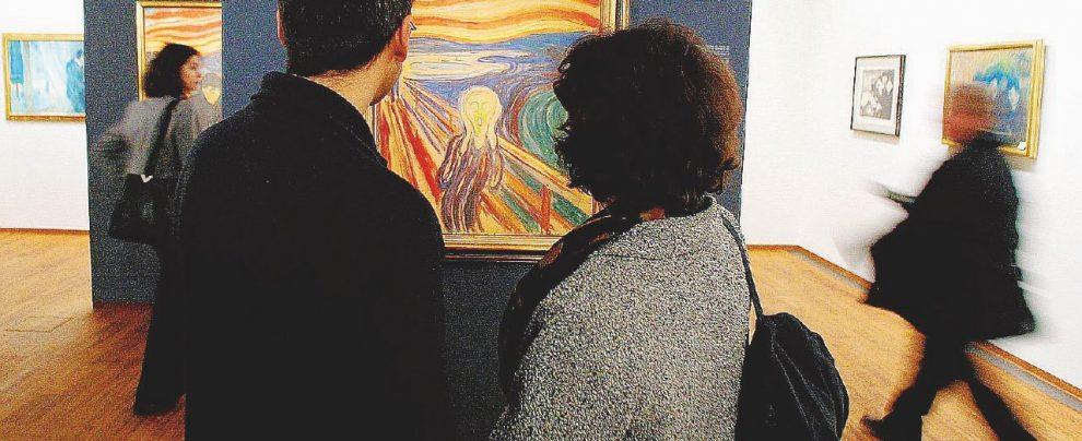 Povero Munch, tra opere sparite e schizzi di birra