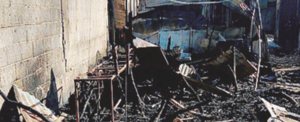 San Ferdinando, baracche al rogo e 40 braccianti stranieri trasferiti