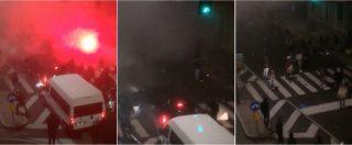 Tifoso interista morto, il video inedito della guerriglia tra ultras interisti e napoletani