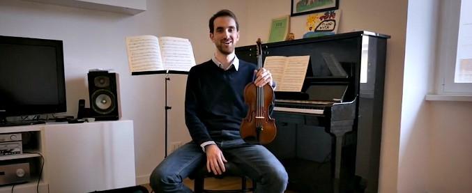 """Riparte il futuro, il violinista che deve scegliere tra Italia e Germania: """"Vorrei restare, ma qui è difficile vivere di musica"""""""