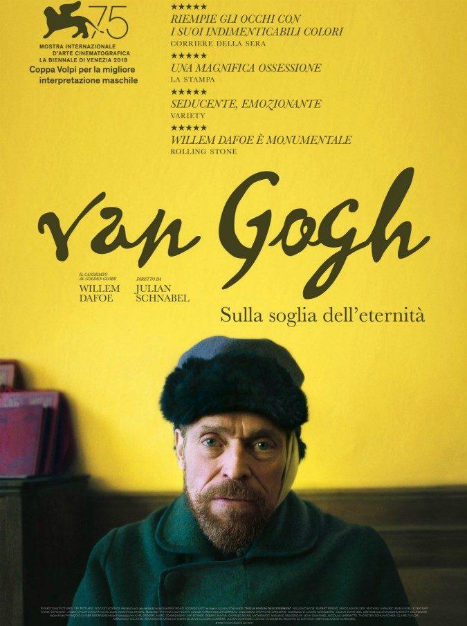 Van Gogh – Sulla soglia dell'eternità, arriva nelle sale il film sulla vita del pittore incompreso. LA CLIP ESCLUSIVA
