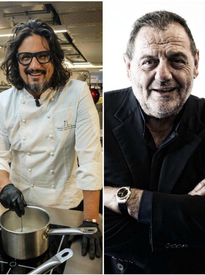"""Gianfranco Vissani contro Alessandro Borghese: """"Si diverte a fare tv, ma non è uno chef"""""""