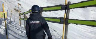 Torino, i Carabinieri sulla pista da sci di Sauze d'Oulx dove è morta la bimba di 9 anni: il sopralluogo prima del sequestro