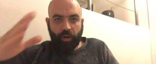 """Saviano a Salvini: """"Smettila di fare il pagliaccio sulla pelle delle persone"""". Poi attacca: """"Sui porti chiusi stai mentendo"""""""