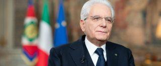 """25 aprile, Mattarella: """"Fu nostro secondo Risorgimento, Costituzione unisca tutti"""""""