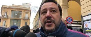 """Dl sicurezza, Salvini: """"Applicato dal 99% dei sindaci, dagli incapaci polemiche che non esistono"""". E attacca De Magistris"""