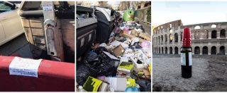 """Rifiuti Roma, assenteismo, roghi, vandali: il dossier del Campidoglio in Procura. """"Unica cabina di regia, noi sotto attacco"""""""
