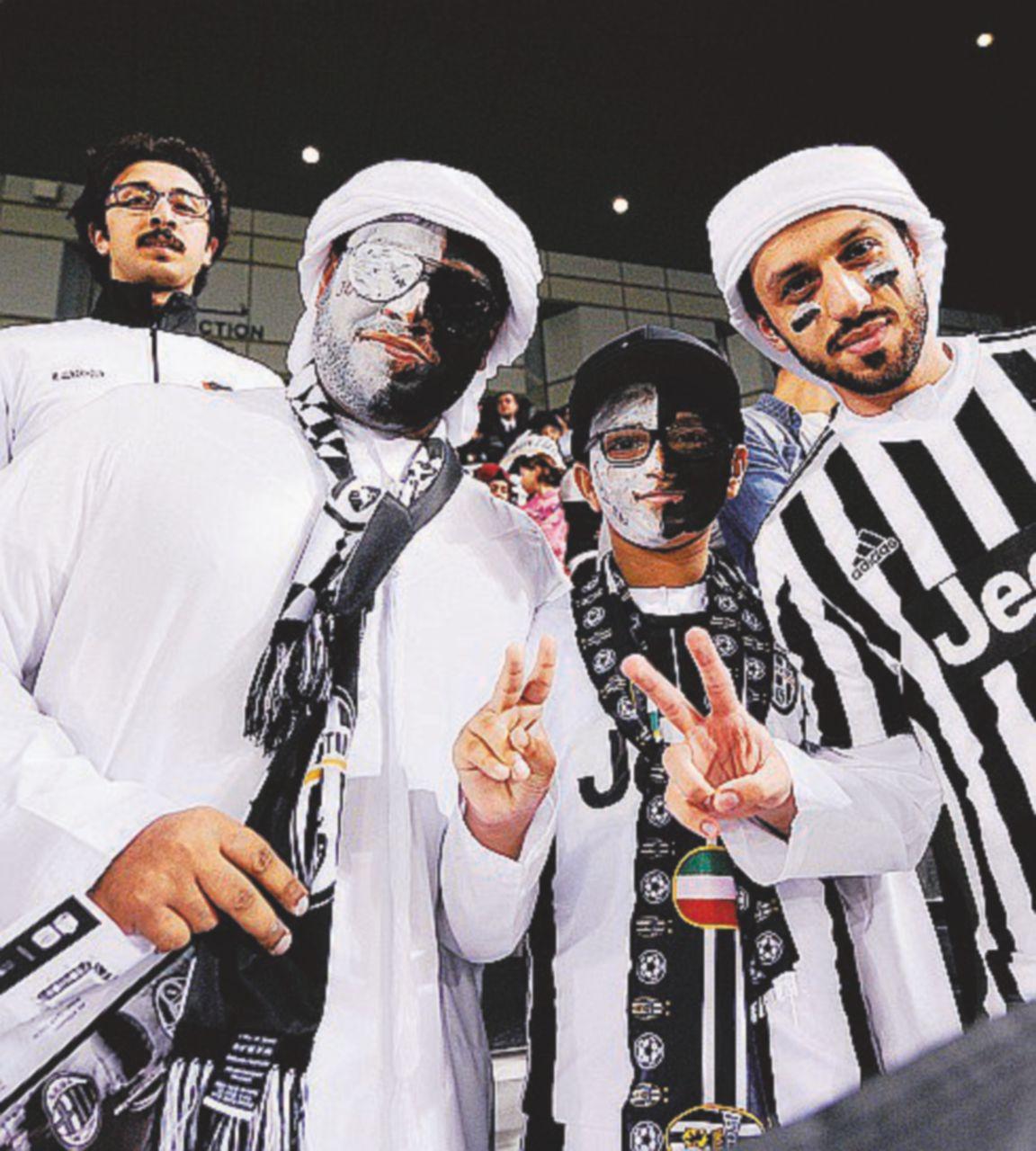 Juve-Milan: omaggi ai sauditi e morti live