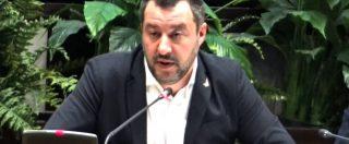 """Stadi, Salvini: """"Calcio sport sempre più sano. No a chiusura impianti, pensiamo a camere di sicurezza interne"""""""